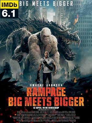 ดูหนัง Rampage แรมเพจ ใหญ่ชนยักษ์ (2018)