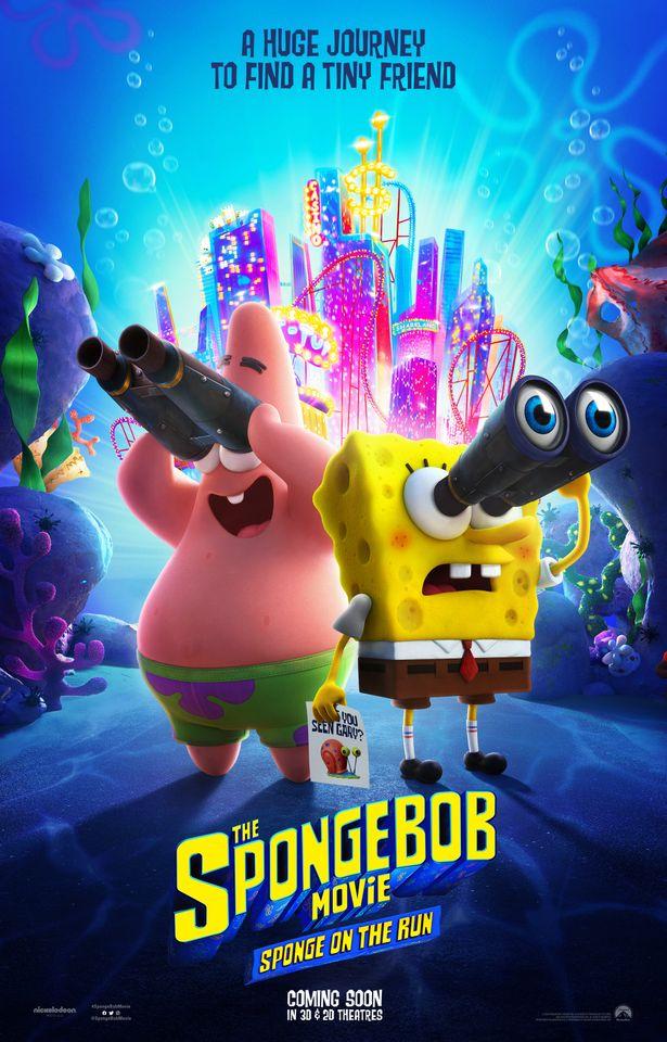 สพันจ์บ็อบ ผจญภัยช่วยเพื่อนแท้ (The SpongeBob Movie Sponge on the Run)
